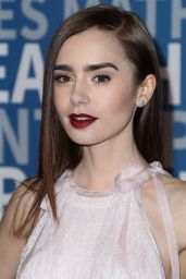 Lily Collins – TrevorLIVE Gala in Los Angeles