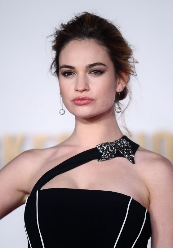 "Lily James - ""Darkest Hour"" Premiere in London"
