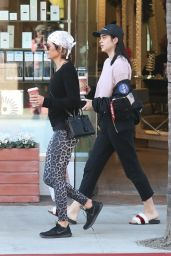 Lisa Rinna and Her Daughter Amelia Hamlin in Beverly Hills