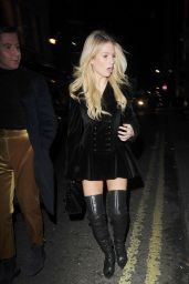 Lottie Moss - Leaves The Connaught Hotel in Mayfair 12/08/2017
