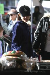 Lucy Hale - Shopping at the Farmer
