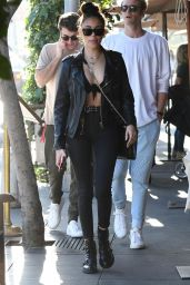 Madison Beer Street Fashion - Los Angeles 12/27/2017