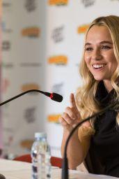 Madison Iseman - Press conference at Comic Con Portugal 2017