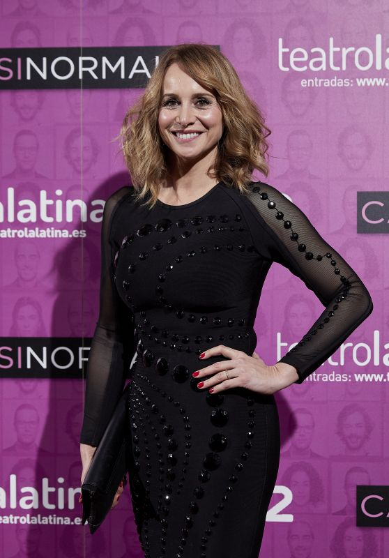 "Mar Regueras – ""Casi Normales"" Play Opening Night in Madrid"
