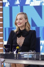Margot Robbie Appeared on Good Morning America in NYC 11/30/2017