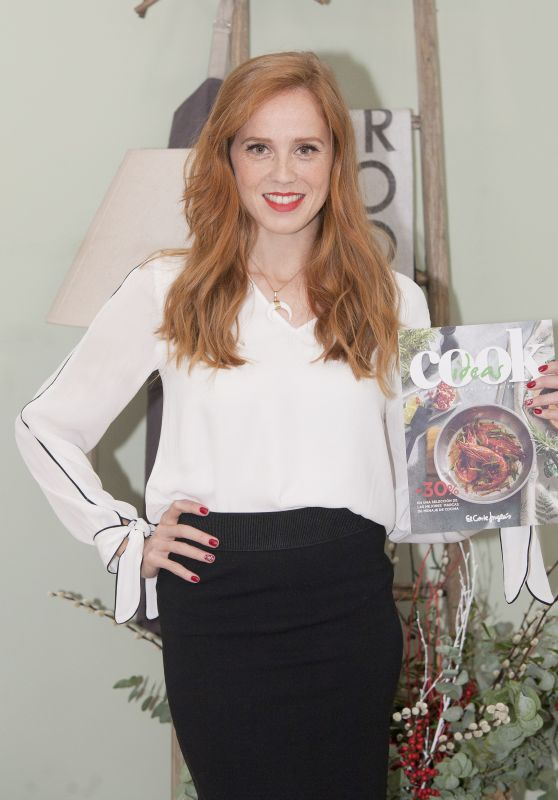 "Maria Castro - ""Cook Ideas"" Book Promotional Event in Madrid"