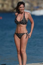Maria Fowler in Bikini on Holiday in Cape Verde 12/13/2017