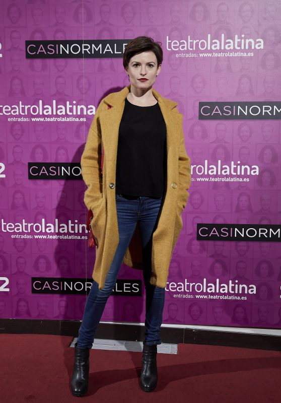 "Maria Ordonez – ""Casi Normales"" Play Opening Night in Madrid"