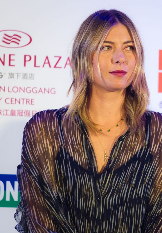 Maria Sharapova - Players Party of the 2018 Shenzen Open WTA International Open