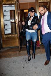 Mariah Carey and Her Boyfriend Bryan Tanaka - New York City 12/05/2017