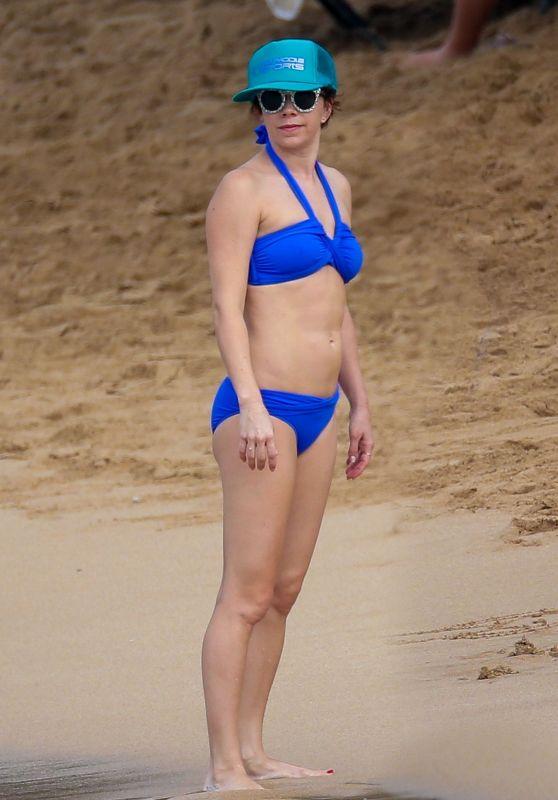 Mary Elizabeth Ellis in Bikini - Maui 12/18/2017