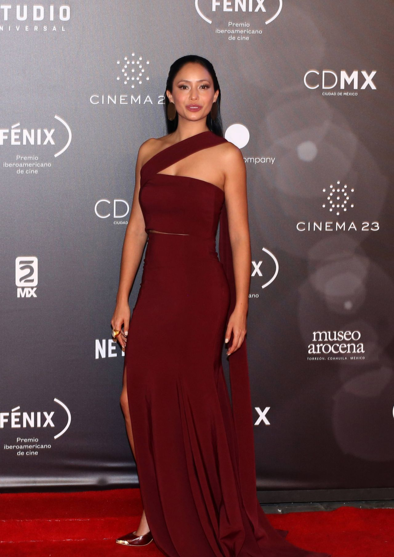 Maya Zapata Fenix Film Awards 2017 In Mexico City