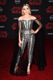 "Meg Donnelly – ""Star Wars: The Last Jedi"" Premiere in LA"