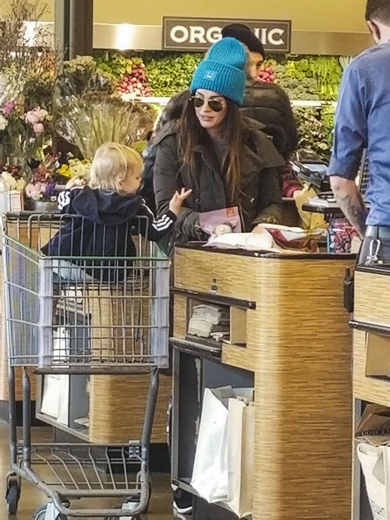 Megan Fox & Brian Austin Green - Shopping in Los Angeles 12/23/2017
