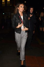 Megan McKenna Night Out - Leaving Scala in London