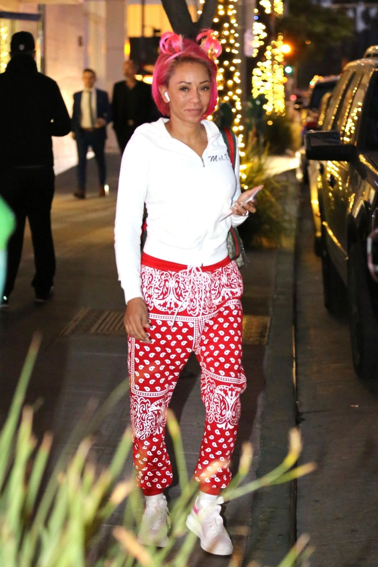 Mel B - Steps Out With Her Rumored Boyfriend Gary Madatyan