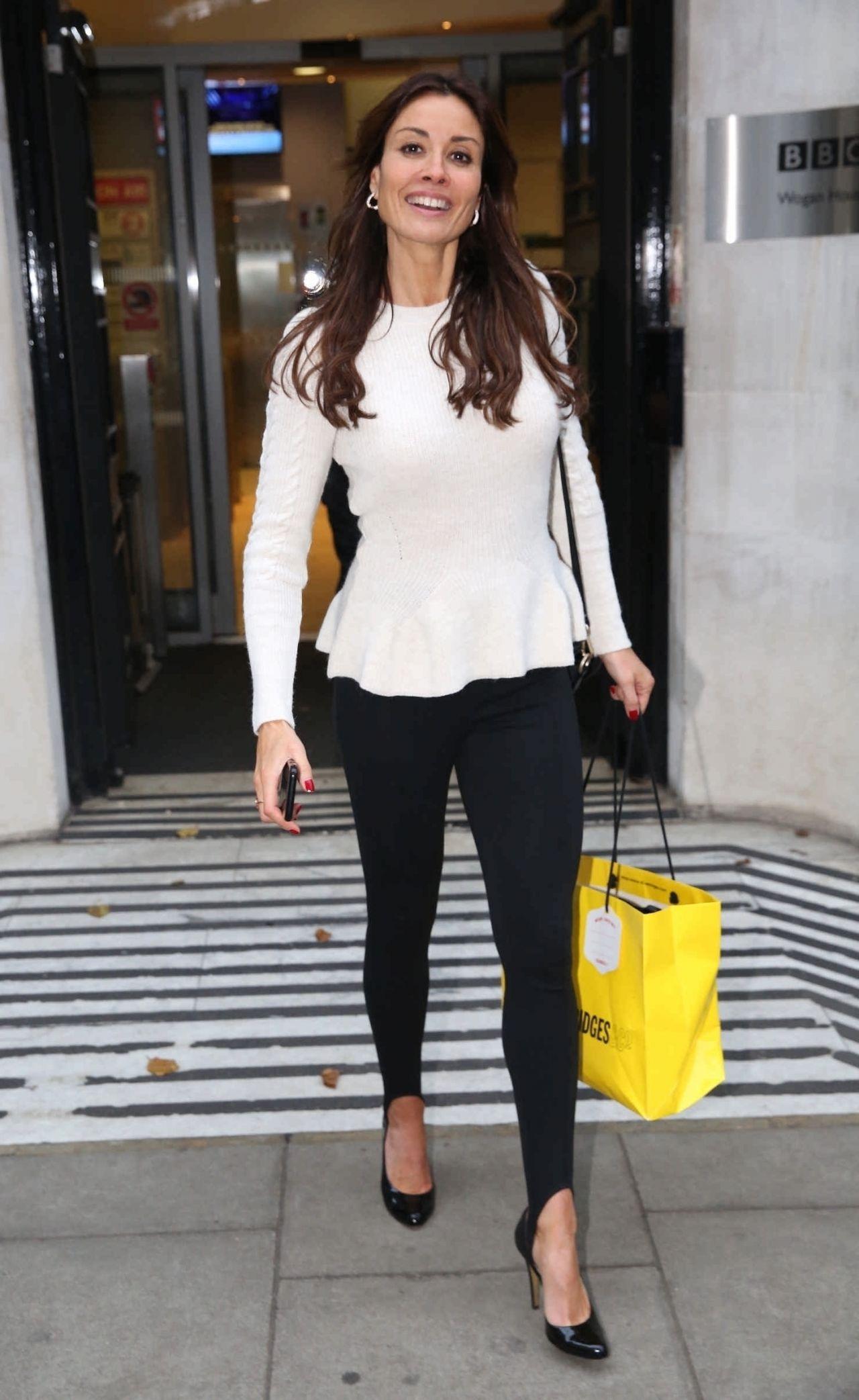 Melanie Sykes Exits Xmas Show Radio 2 in London