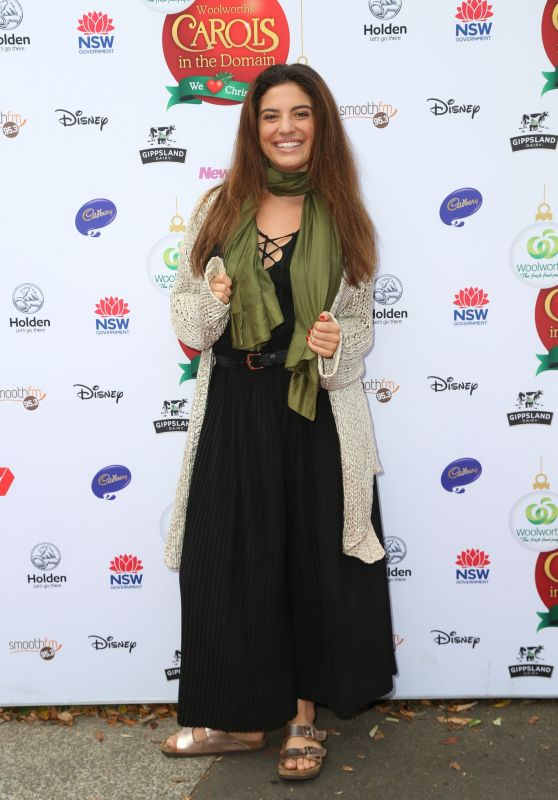 Mia Morrissey – Woolworths Carols in the Domain Pre-Show VIP Party in Sydney