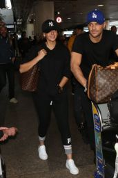 Michelle Keegan and Mark Wright Arriving at LAX in LA