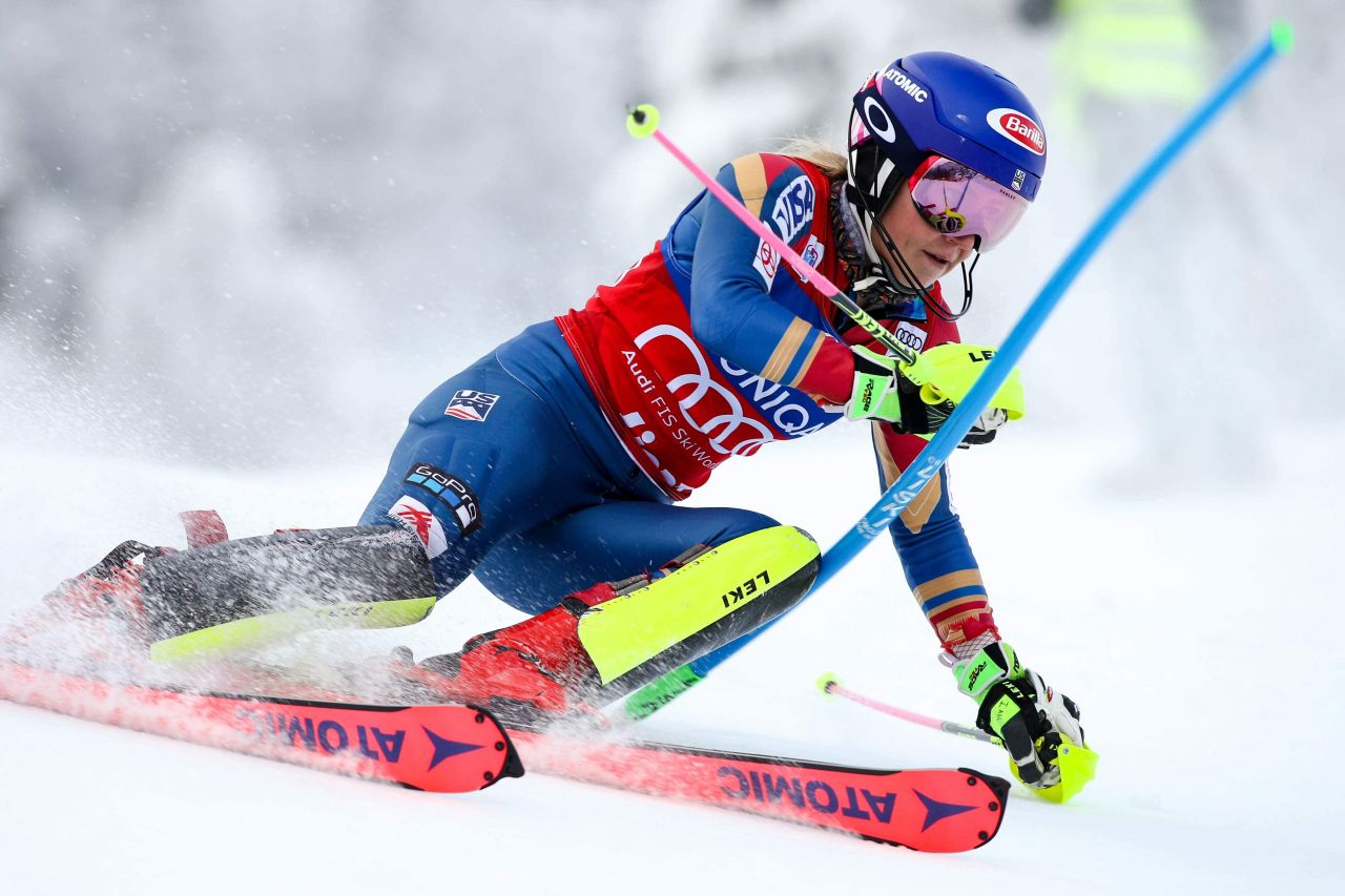 Mikaela Shiffrin At Alpine Skiing