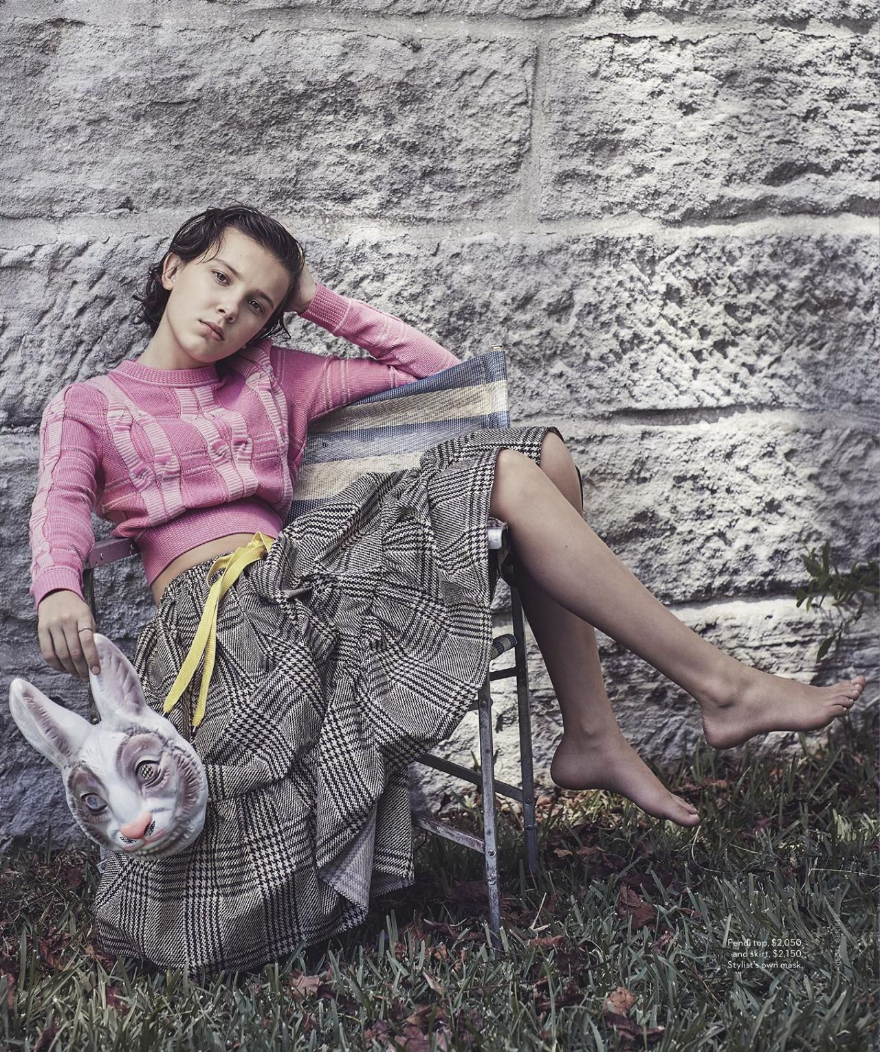 Millie Bobby Brown Vogue Australia January 2018 Issue