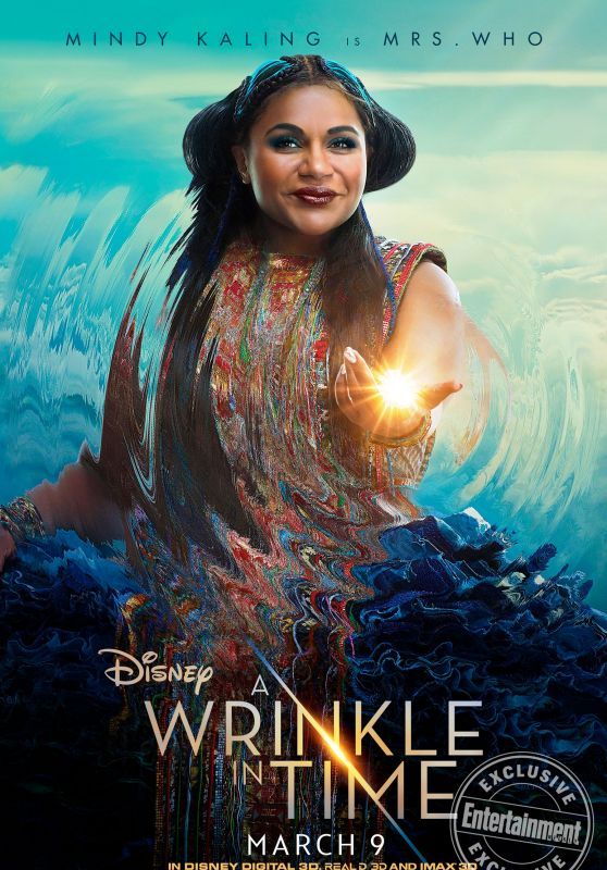 Mindy Kaling - A Wrinkle in Time Poster