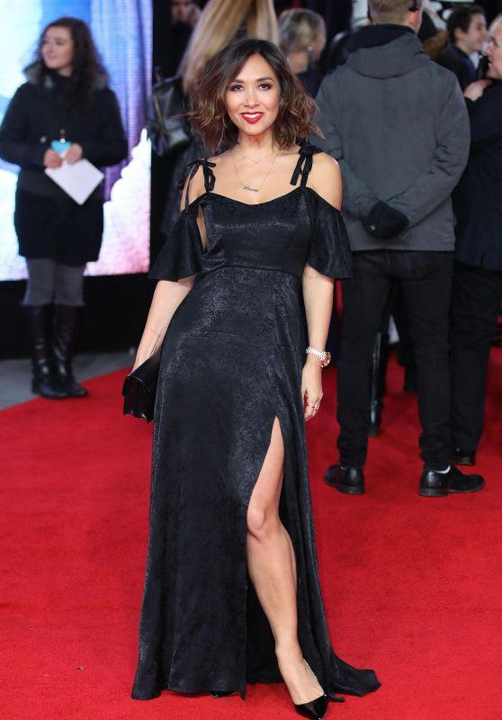 """Myleene Klass – """"Star Wars: The Last Jedi"""" Premiere in London"""