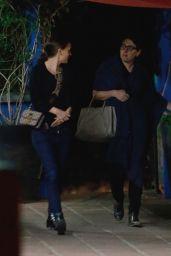 Natalie Portman - Leaving a Restaurant in Los Angeles 12/08/2017