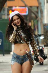 Natasha Blasick - Shopping in a Santa Hat