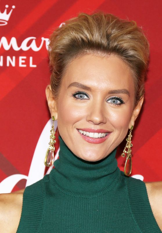 "Nicky Whelan – ""Christmas at Holly Lodge"" Screening in Los Angeles"