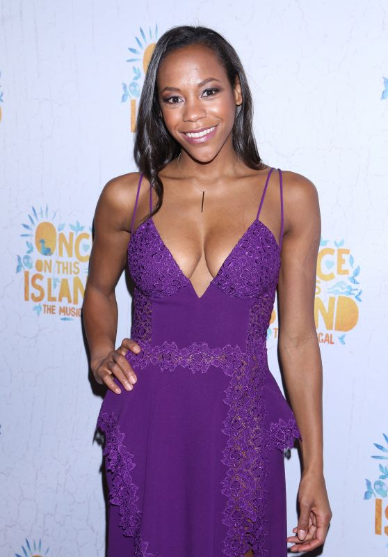 """Nikki M James - """"Once On This Island"""" Broadway Opening Night in New York City"""