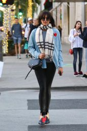 Nina Dobrev Casual Style - Shopping on Rodeo Drive in Beverly Hills 12/19/2017