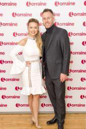 Ola Jordan - Lorraine TV Show in London 12/20/2017
