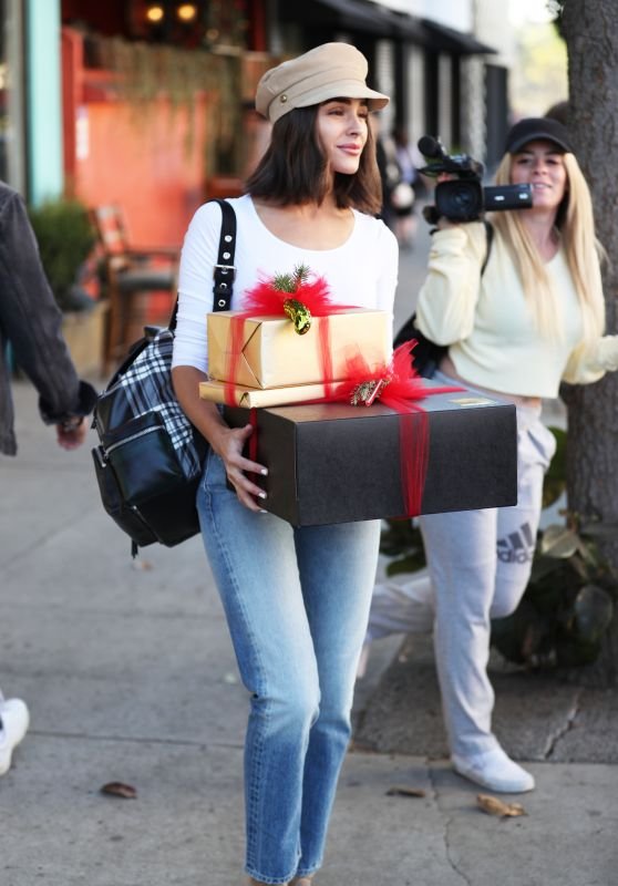 Olivia Culpo - Christmas Shopping at Espionage in Los Angeles