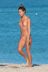 Olivia Pascale and Erika Wheaton in a Tiny Bikinis in Miami Beach 12/12/2017