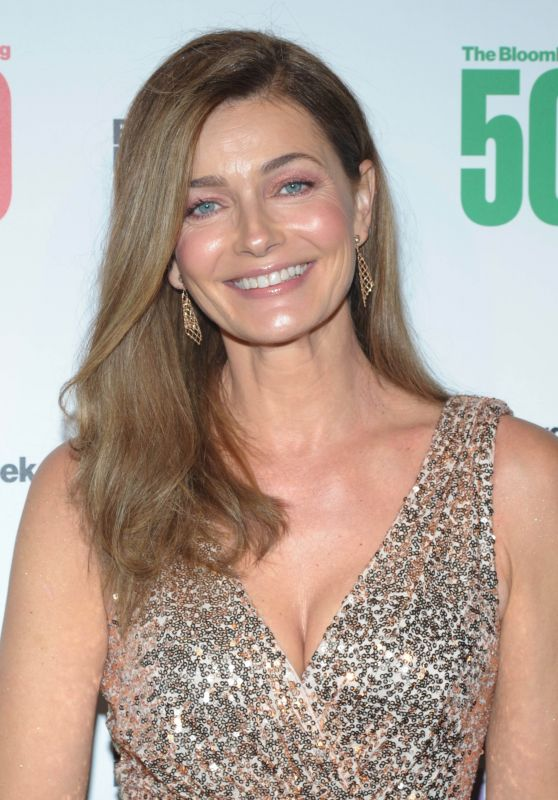 Paulina Porizkova - Bloomberg 50 Awards in New York City