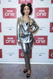 """Pearl Mackie - """"Twice Upon A Time"""" Doctor Who Special Launch Event in London"""