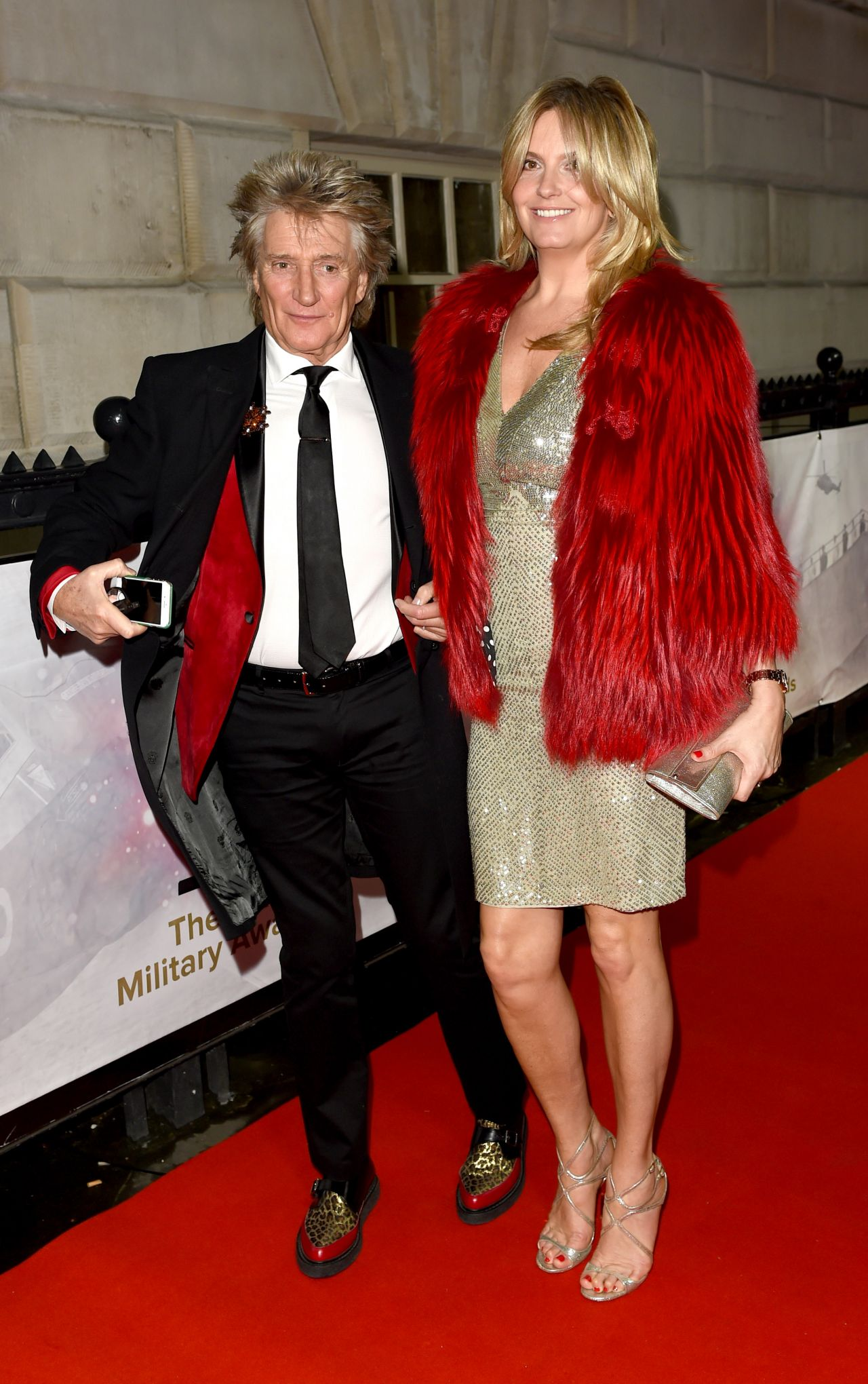 Penny Lancaster – The Sun Military Awards 2017 in London