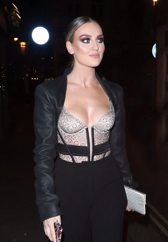 Perrie Edwards Night Out Style - Mr Fogg