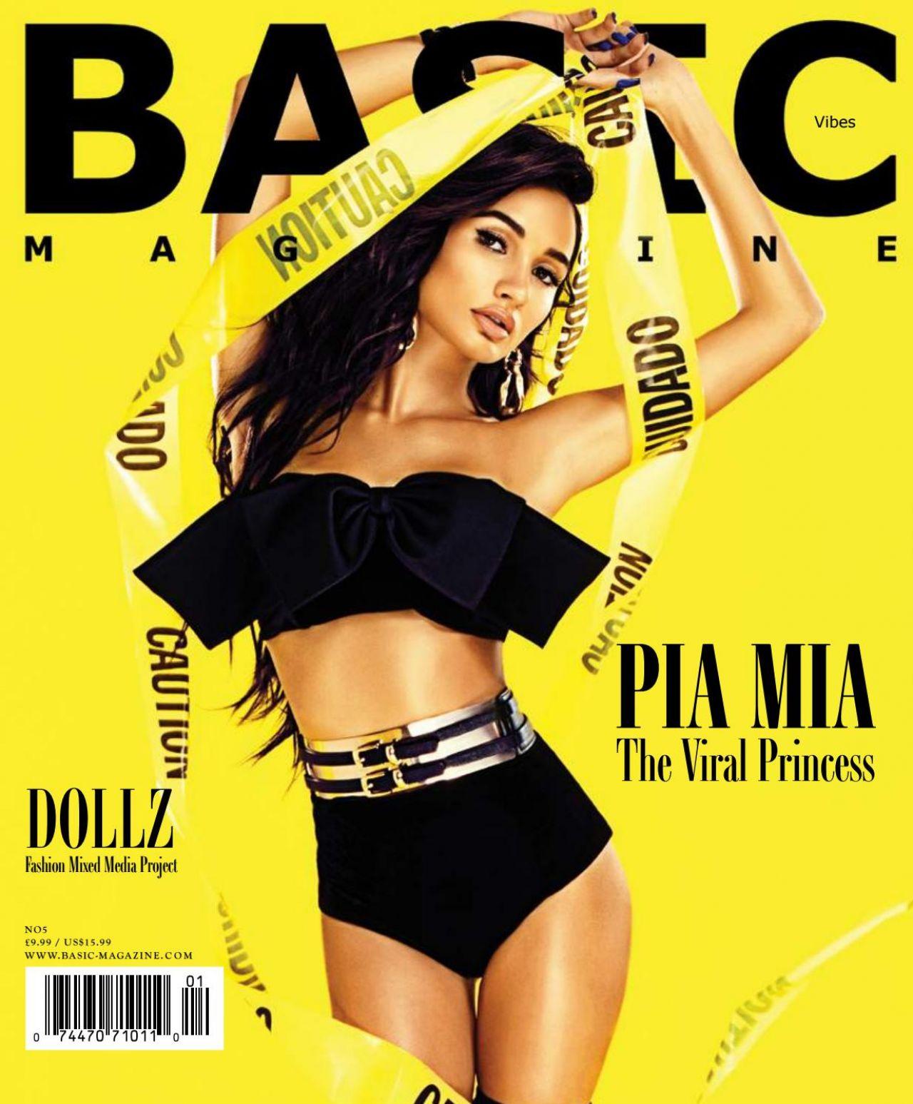 Pia Mia Perez - BASIC Magazine Vibes Issue November 2017