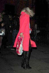 Pixie Lott Style - Leaving Mahiki in South Kensington in London