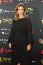 Rachel Griffiths – AACTA Awards2017 Red Carpet in Sydney