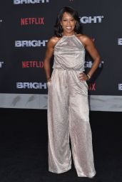 "Regina King – ""Bright"" Premiere in Los Angeles"