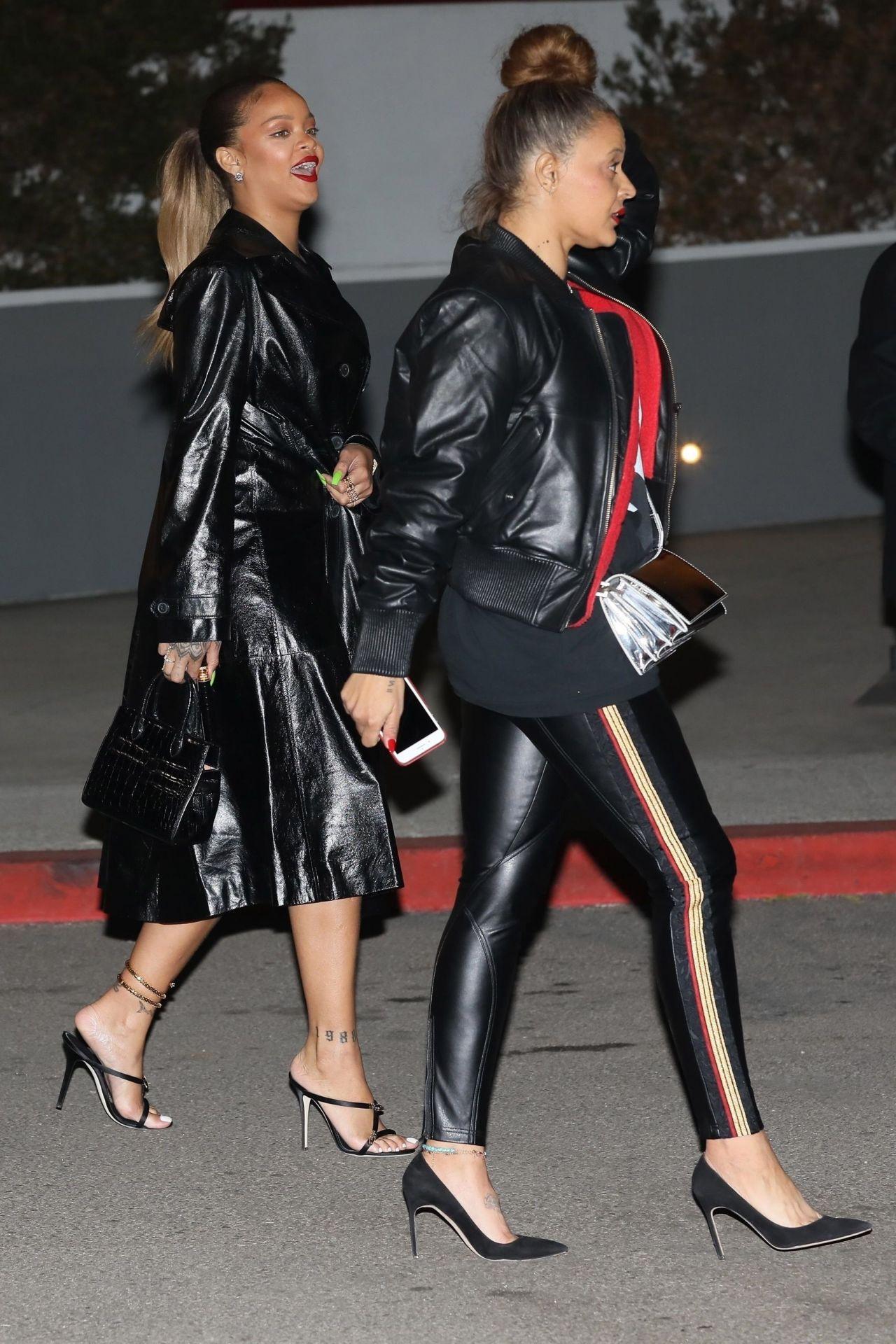 Rihanna At Jay Z S Concert In Inglewood