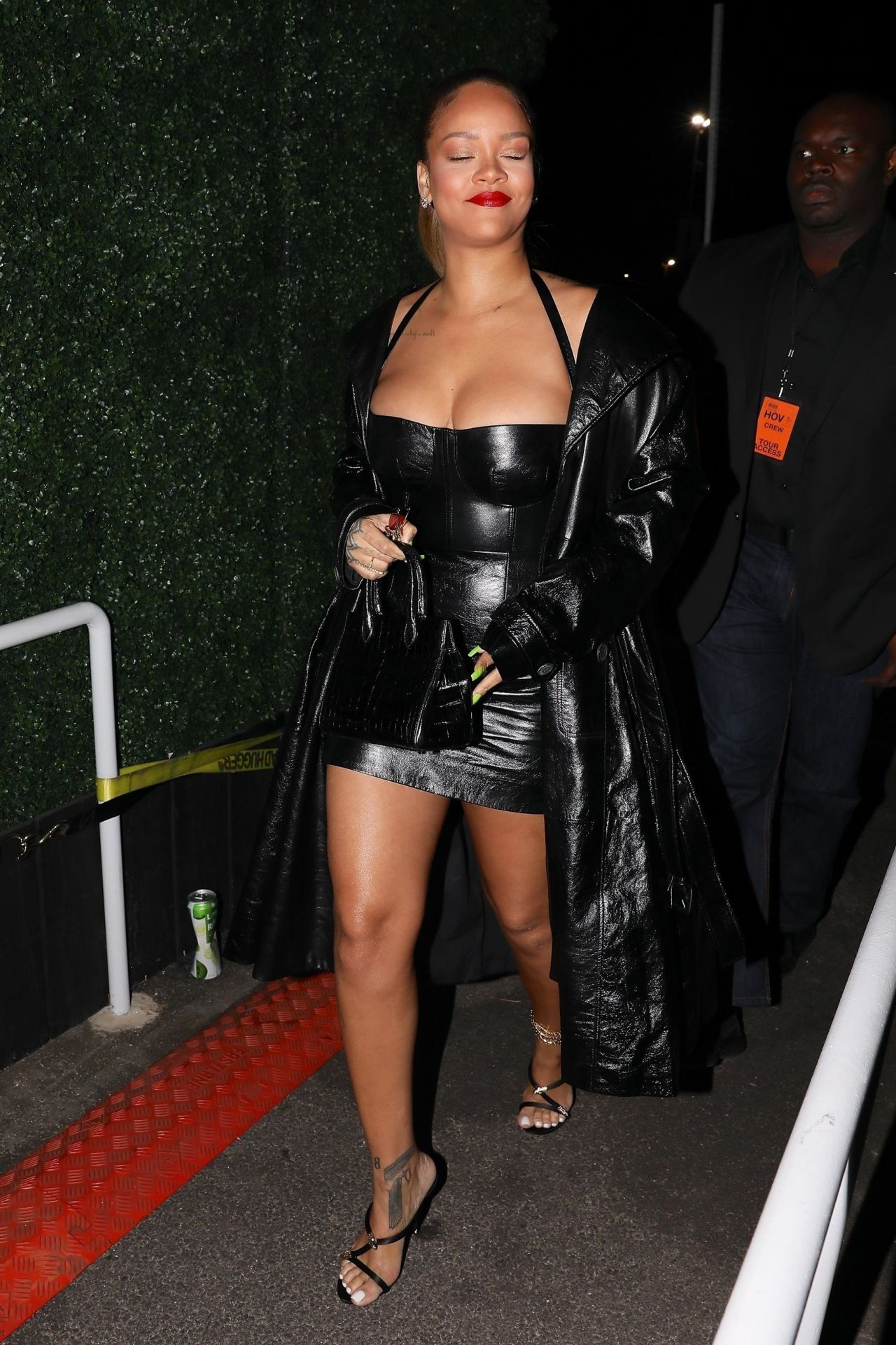 Rihanna At Jay Z S Concert In Inglewood