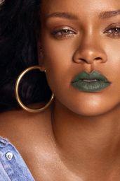 Rihanna - Fenty Cosmetics New Lipstick Line Mattemoiselle Photoshoot