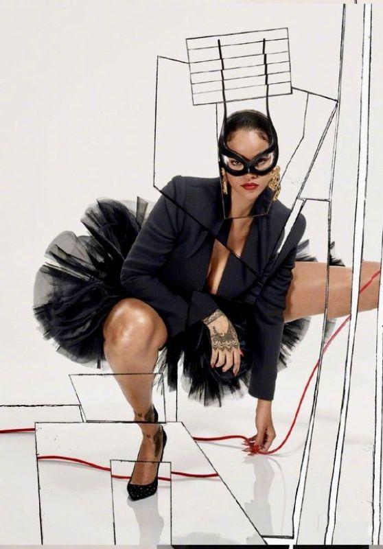 Rihanna - Vogue Paris Dec 2017 Jan 2018 Edition Photoshoot