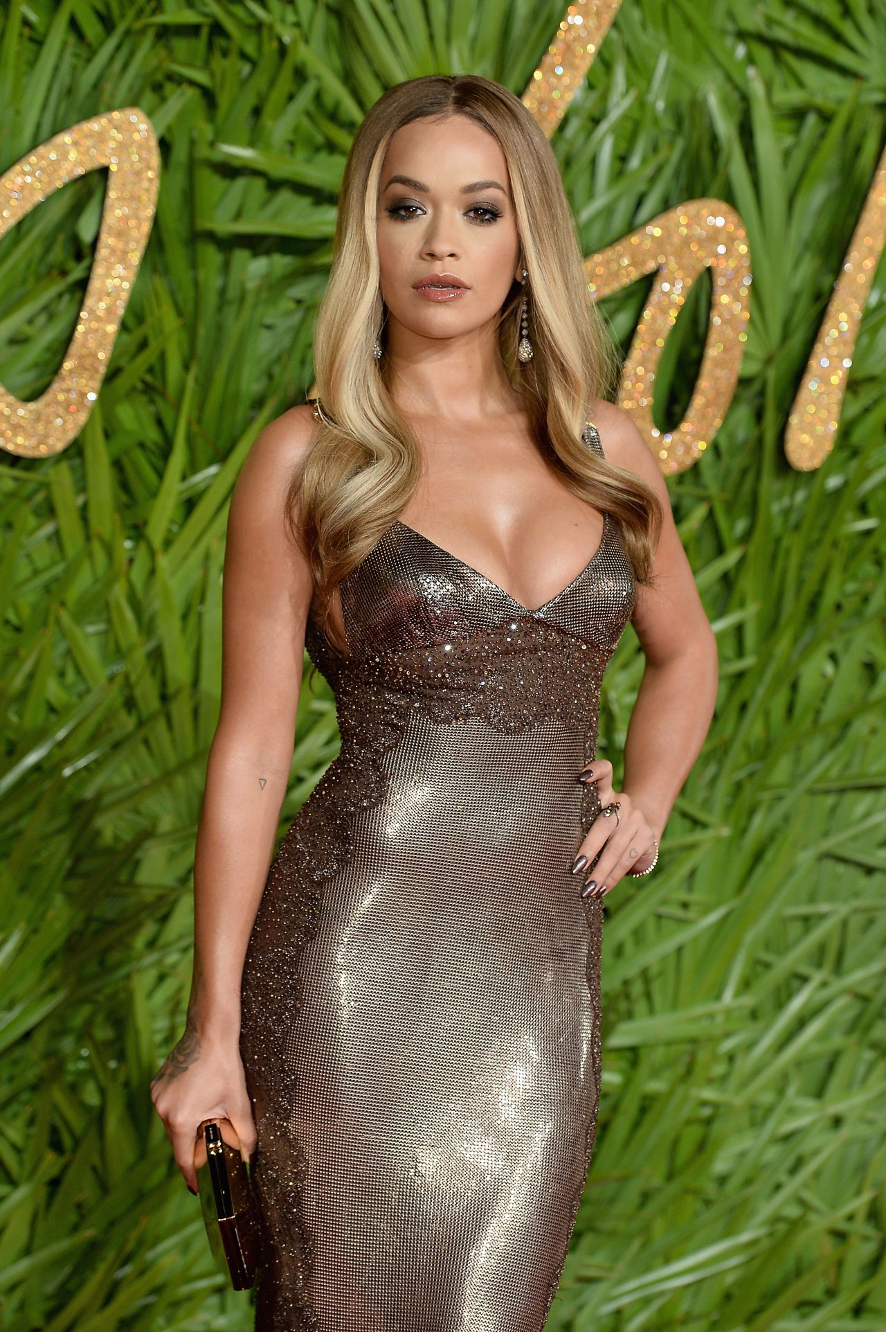 Rita Ora Fashion Awards 2017 In London