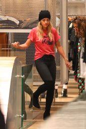 Rita Ora Shopping at Prada in Soho, NYC