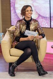 Rochelle Humes - This Morning TV Show in London 12/21/2017